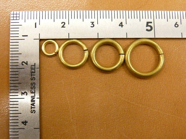 金具》真鍮製C環4種と真鍮製 ...